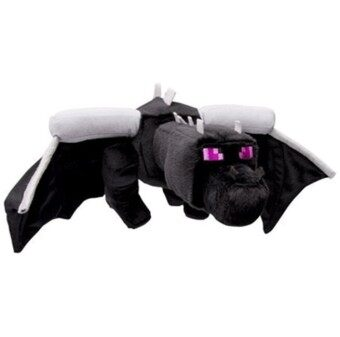 Harga 24 inch 60cm Huge Big Dinosaur minecraft ender dragon plush soft black minecraft enderdragon PP cotton minecraft dragon Toys