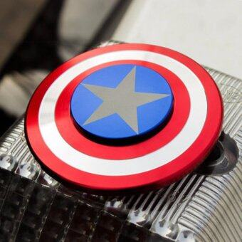 Harga Genius hand spinner New Captain America EDC Fidget Spinner For ADHD