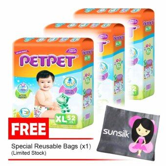 Harga Petpet Mega Pack XL 52s (3 packs)