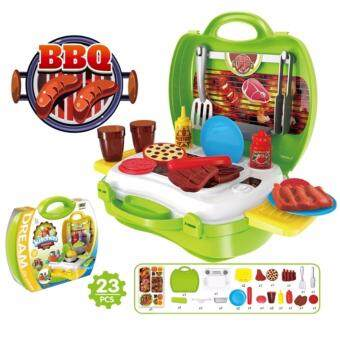 Harga Baby PlayNLearn Children Fun Game Cook Happy Kitchen PlaySet - BBQ