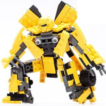 Harga GUDI 8711 Transformation Robot 2-in-1 Autobot Building Blocks, 225 PCS