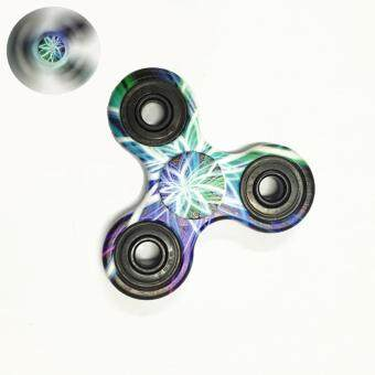 Harga GLiving Hand Fidget Spinner Toy Stress Reducer and Perfect For ADD, ADHD ,Finger Toy fidget work Ultra Fast Bearings Laser