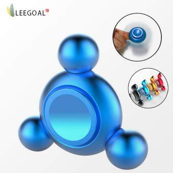 Harga leegoal Hand Spinner Toys ,Fidget Spinner Perfect For ADD, ADHD, Anxiety, And Stress Relief (Blue)