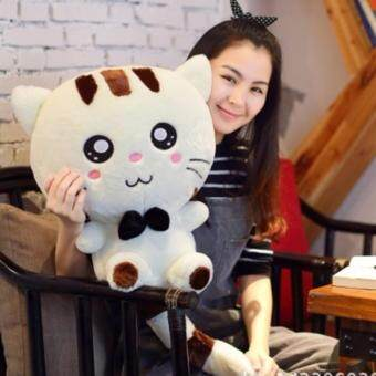 Harga Cute Kitty Doll Big Tail Big Cat Face - 80cm (Including Tail)
