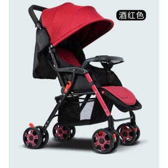 Harga Original GIFT Brand Baby Stroller Light Weight Anti-Shock Safe High Quality