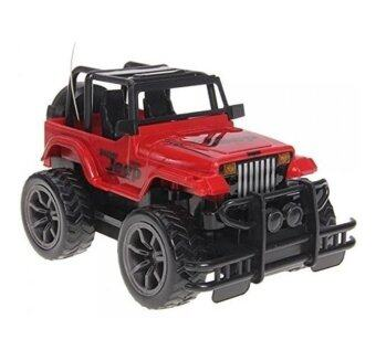 Harga Quality Remote Control Jeep Car Baby Kids Sports Boy Toys (Red)