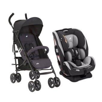 Harga Joie Every Stage Convertible Car Seat (Urban) + Joie Nitro LT Stroller (Two Tone Black)