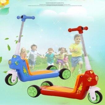 Harga Kids Multifunction Scooter-Red Color