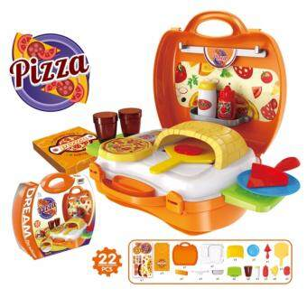 Harga Baby PlayNLearn Children Fun Game Cook Happy Kitchen PlaySet - Pizza