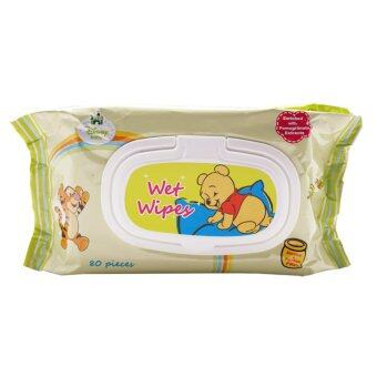 Harga Disney Baby Winnie the Pooh Wet Wipes 80's (Twin Pack)