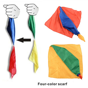 Harga New Silk Scarf For Magic Trick By Mr. Magic Props Tools Toys Gift Randomly