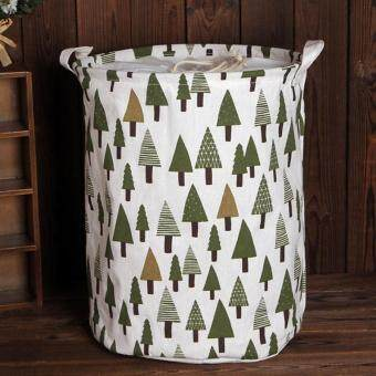 Harga Toy Basket Storage Bag Big Laundry Basket Toy Storage Clothing Laundry Basket - Tree