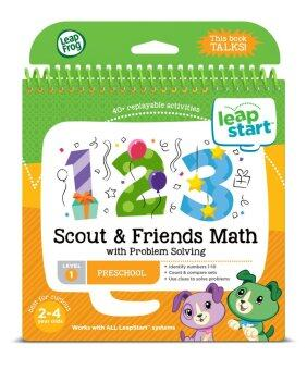 Harga LeapFrog LeapStart™ Scout & Friends Math with Problem Solving 30+ Page Activity Book