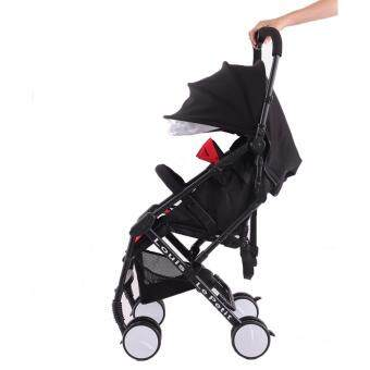 Harga Alpha Living (Louis Le Petit) Light Weight Stroller / Compact and Portable Travel Baby Stroller (Black)