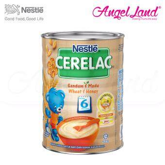 Harga Nestle Cerelac Wheat & Honey 6M+ (500G)