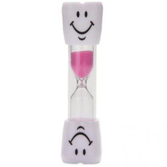 Harga Buytra Cute 2-3 Minute Hourglass Kids Toothbrush Timer Smiley Sand Egg Timer Gift Pink