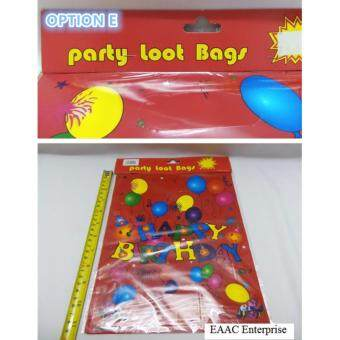 Harga Children Party Happy Birthday Loot/Goody Bag Multiple Design (10pcs)-Option E