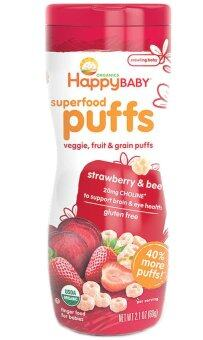 Harga Happy Baby Organic Puffs (Strawberry)