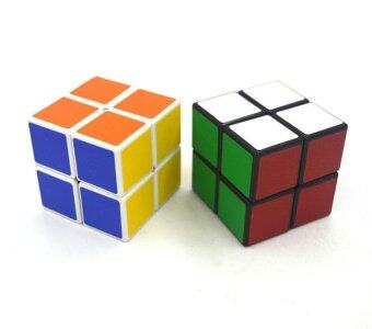 Harga KCmall 50mm Cyclone Boys 2x2 Speed Cube Stickerless Magic Cube Puzzles Toys Colorful