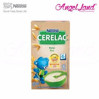 Harga Nestle Cerelac Rice 6M+ (100G)