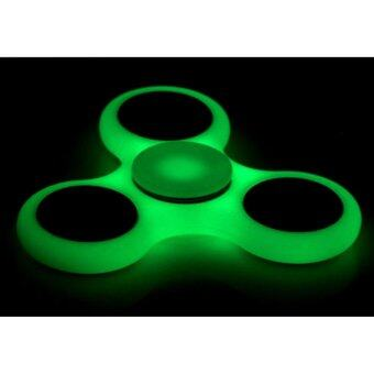 Harga Lighting Fidget Spinner Toy Glowing Hand Spinner Perfect For ADD, ADHD, Anxiety, and Stress Relief (Fluorescence)