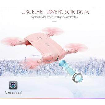 Harga JJRC H37 ELFIE - LOVE Foldable Mini RC Selfie Drone Quadcopter with WiFi FPV Camera Altitude Hold