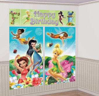Harga Amscan Tinkerbell Fairies Happy Birthday Scene Setter Photo Booth 6ft