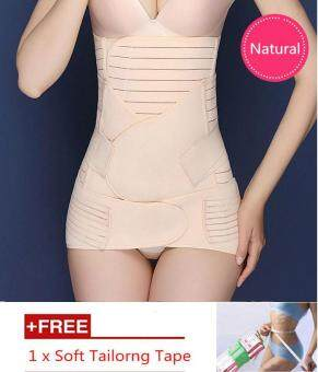 Harga LittleJump Premium 3pcs Set Body Shaper Waist Trimmer Postpartum Support Belt Bengkung Modern Corset Girdle Belts Abdomen Belt