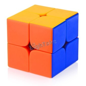 Harga Brand New 46mm 2x2x2 DaYan 1st Generation Stickerless Magic Cube Speed Puzzle Cubes Toys for kid Child