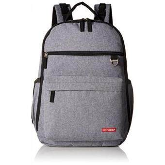 Harga GPL/ Skip Hop Duo Signature Diaper Backpack, Heather Grey/ship from USA