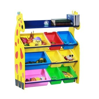 Harga Giraffe Rack with 3 Big Bin and 6 Small Bin
