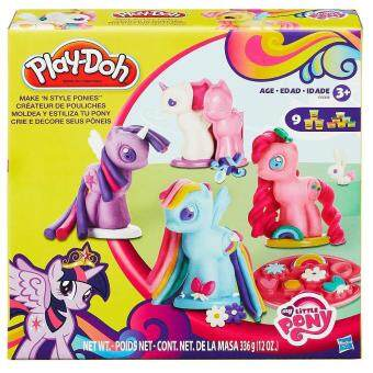 Harga Play-Doh My Little Pony Make 'n Style Ponies