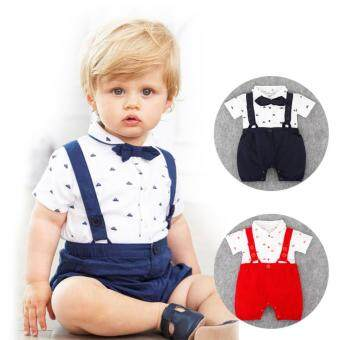 Harga Baby Toddlers Rompers Onesies Jumpsuits Boys Girls Cotton Short Overalls Outfits Rompers Jumpsuits Children Kids Shirts Rompers Jumpsuits