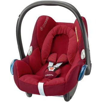 Harga Maxi Cosi Infant Carrier Cabriofix RED ROBIN - 0-13KG - Infant Baby suitable car seat (Made in Holland) - Compatible with Quinny Zapp Xtra Stroller - BUILT IN Adapters for QUINNY strollers - 2017 NEW ARRIVAL - MAXICOSI/ MAXI-COSI
