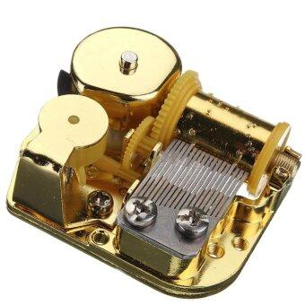 Harga 18 Note Musical Mechanism Movement For DIY Music Box, Kiss The Rain, Golden Clockwork music movement