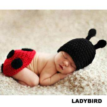 Harga (READY STOCK) HAND MADE PHOTO PHOTOGRAPHY PROP BABY COSTUME - LadyBird