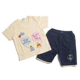 Harga Disney Winnie The Pooh T-shirt+Pant(Yellow)(0-18 Month)