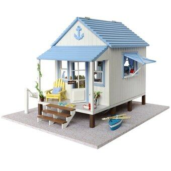 Harga DIY Doll House with Voice Control Light and Music