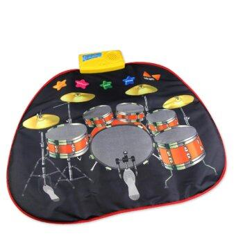 Infant educational instrument drum set childs baby music toy musical toys instruments for children kids play mat babies keyboard