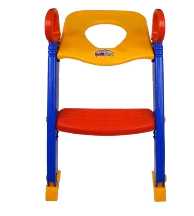 Kid Foldable Toilet Trainer Potty Seat Step Ladder