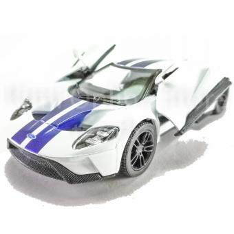 Kinsmartcast Car   Ford Gt Blue Red Grey White Model Friction Toys