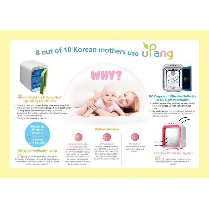 [KOREAN - UPANG] UV Baby Bottle Sterilizer - Blue