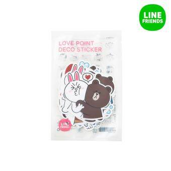 Harga LINE FRIENDS POINT DECO STICKERS_LOVE