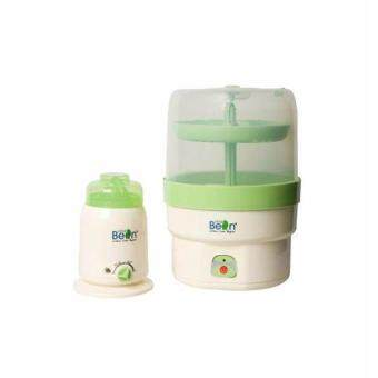 Harga Little Bean Sterilizer + Bottle Warmer Combo Set