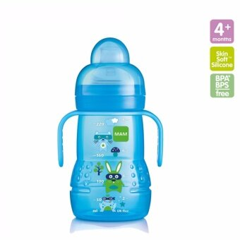 Harga MAM Trainer Bottle 220ml (Blue)