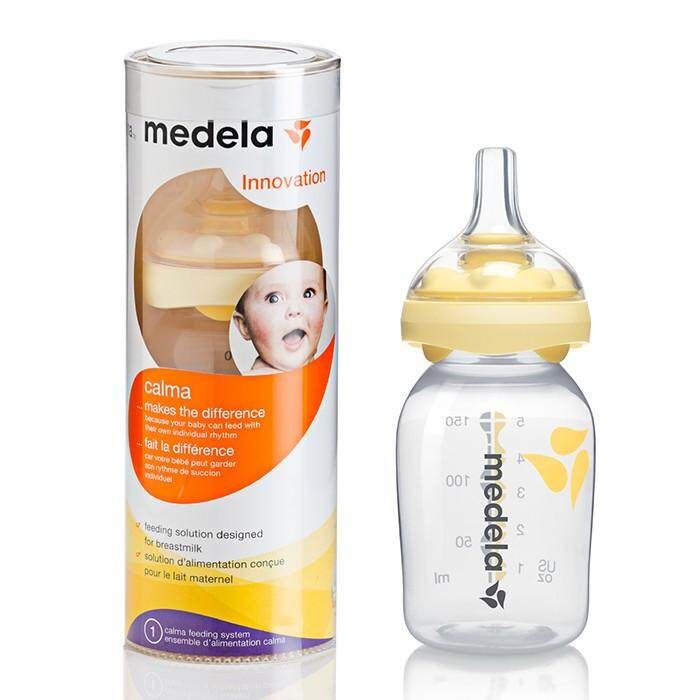 [MEDELA] Calma with 150ml Breast Milk Bottle