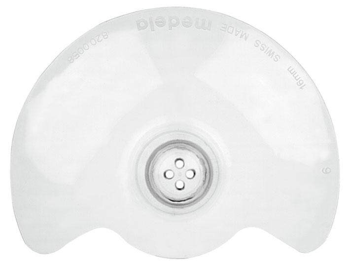 [MEDELA] Contact Nipple Shields - 16mm (Small) *1 Pair*