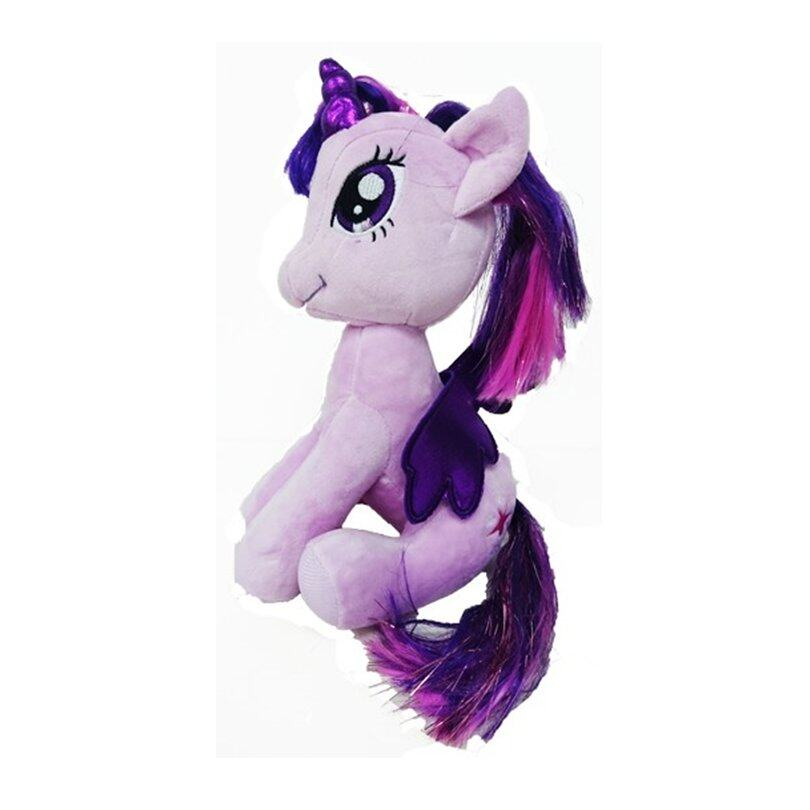 My Little Pony 25cm Sitting Soft Toy - Purple Twilight Sparkle