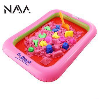 Harga NaVa DIY Kinetic Sand With Colors (2kg) with Air Pump