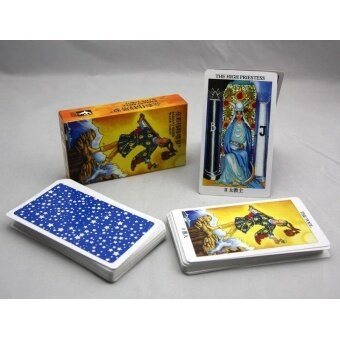 New Radiant Rider Tarot Cards English Version Best Quality Board Game Playing Cards for Party Cards Game